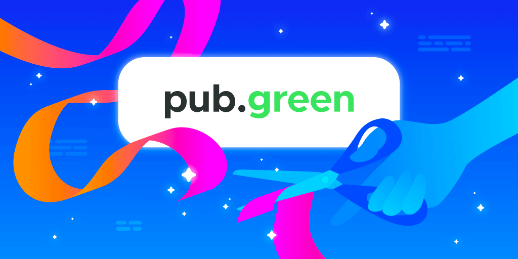 2021 - pub.green is launched